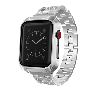42mm Apple Watch Case Cover with Replaceable Steel Bands