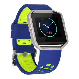 Fitbit Blaze breathable silicone band