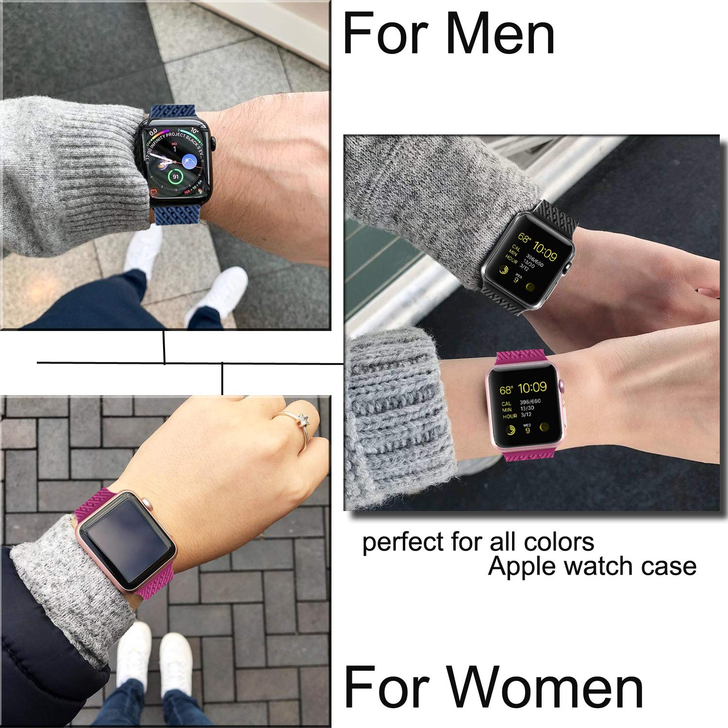 Apple Watch Band (S/M M/L)---10 colors