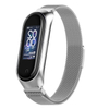 Milanese Loop Straps for Xiaomi MiBand 3/4 and Stainless Steel Bands for Miband 4 and Miband 3