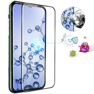 [Medical-Grade Antibacterial] Tempered Glass Film for iPhone X/Xs/11/Xr/11pro/11pro max/XS Max,HD Anti-Fingerprint Anti-Glare Screen Protector